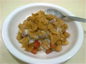 Tasty Chana Chaat