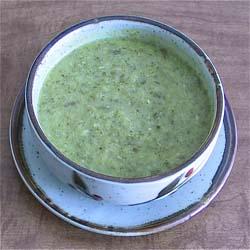 250Zucchini-Broccoli Soup