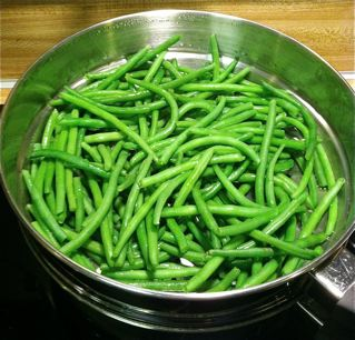 Green Beans with Almonds and Rosemary - Sensory..